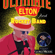 Elton John & George Michael - Ultimate Elton & The Rocket Band George Michael By Jay Francis- Tenerife