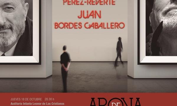 Arturo Pérez-Reverte y Juan Bordes dan vida a la segunda edición del certamen Arona de las Artes y las Letras