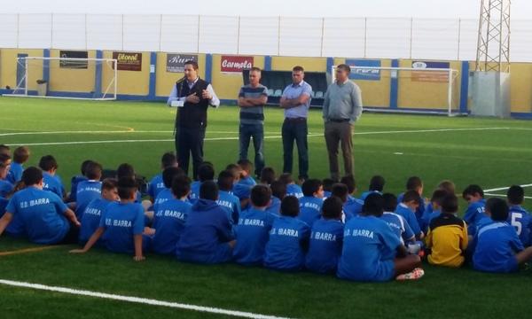 El campo Dionisio González de El Fraile contará con unas instalaciones renovadas y la cobertura de la grada