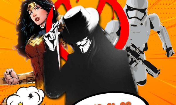 V de Vendetta, superhéroes y piezas de Star Wars en la primera edición de Arona Cómic 2018 de Los Cristianos