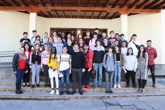Una Arona participativa ha contado con más de 400 alumnas y alumnos en los plenos municipales juveniles