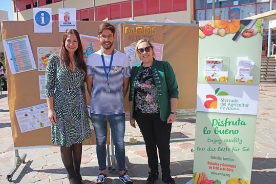 Arona promueve una alimentación saludable en el marco del plan municipal de drogodependencias y adicciones