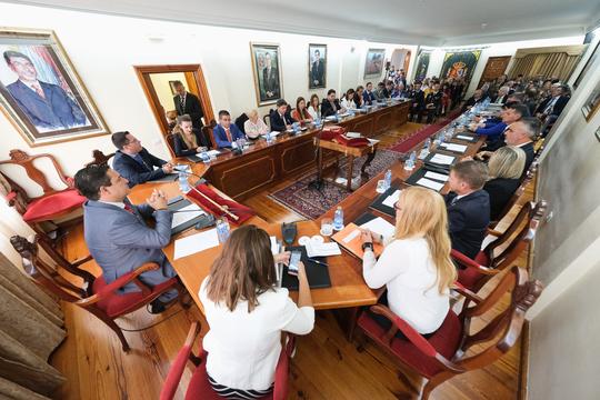 El pleno de Arona respalda los presupuestos de 2020