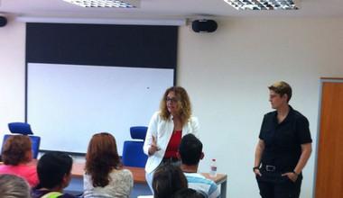 Imagen del curso de integración transversal impartido al personal técnico del Patronato de Servicios Sociales del Ayuntamiento de Arona. Mayo 2014