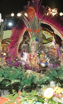 Reina Juvenil del Carnaval de Los Cristianos Arona - 2008.